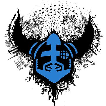 Megaran: Symphonies of the Knight- Black & Blue by LightningArts