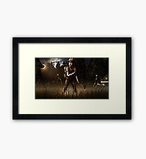 Clementine- The Walking Dead Game Framed Print