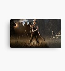 Clementine- The Walking Dead Game Metal Print