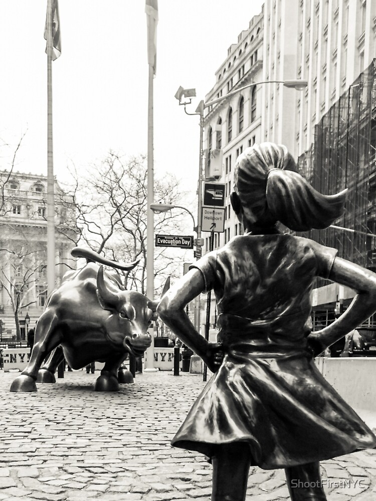 Fearless Girl & Bull NYC de ShootFirstNYC