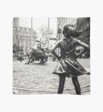 Pañuelo Fearless Girl & Bull NYC