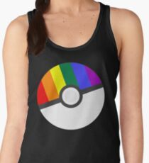 Pokemon 'Prideball' LGBT Pokeball Shirt/Hoodie/etc Women's Tank Top
