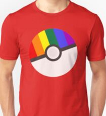 Pokemon 'Prideball' LGBT Pokeball Shirt/Hoodie/etc T-Shirt