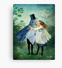 The Lovers Canvas Print