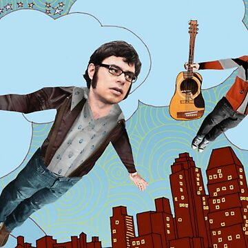 Flight Of The Conchords - Flying by Maddisan