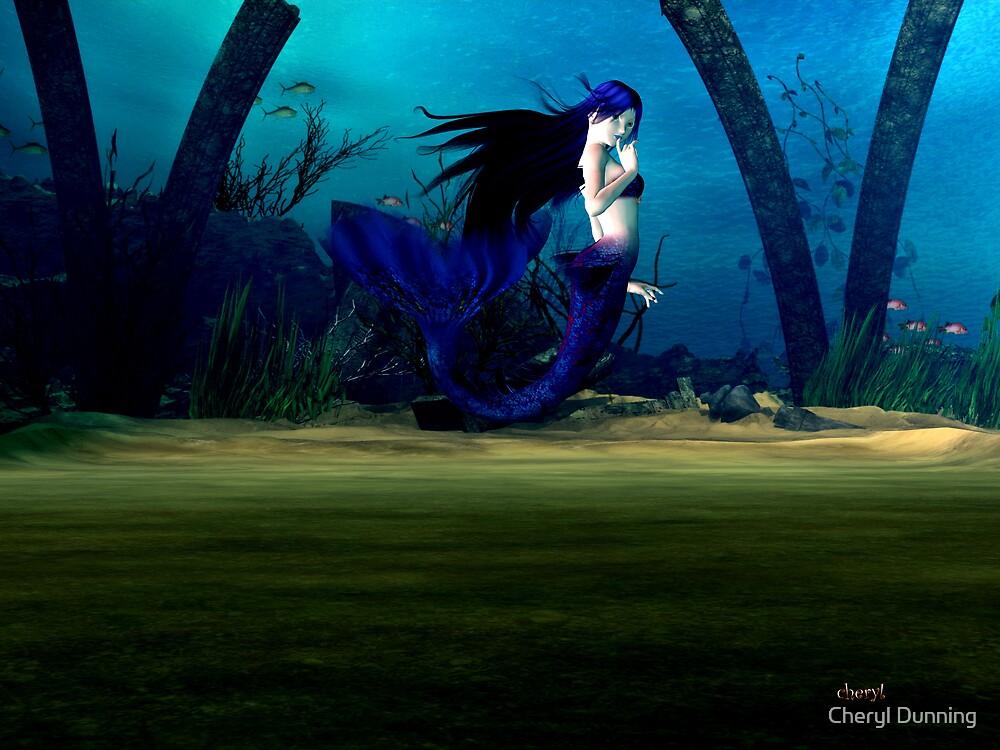the mermaid by Cheryl Dunning