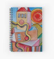 My City Spiral Notebook