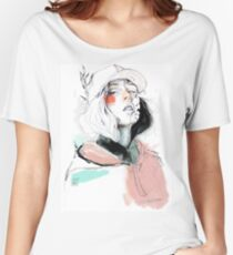 COLLABORATION ELENA GARNU / JAVI CODINA Women's Relaxed Fit T-Shirt