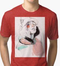 COLLABORATION ELENA GARNU / JAVI CODINA Tri-blend T-Shirt
