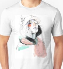 COLLABORATION ELENA GARNU / JAVI CODINA Unisex T-Shirt