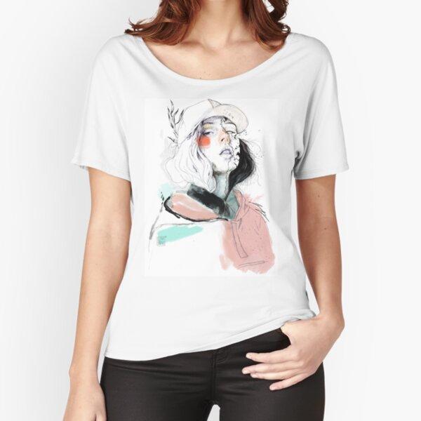 COLLABORATION ELENA GARNU / JAVI CODINA Relaxed Fit T-Shirt