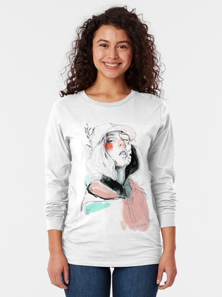 Alternate view of COLLABORATION ELENA GARNU / JAVI CODINA Long Sleeve T-Shirt