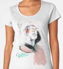 COLLABORATION ELENA GARNU / JAVI CODINA Women's Premium T-Shirt