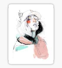 COLLABORATION ELENA GARNU / JAVI CODINA Sticker