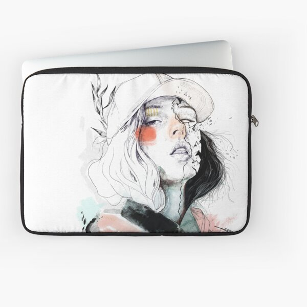 COLLABORATION ELENA GARNU / JAVI CODINA Laptop Sleeve