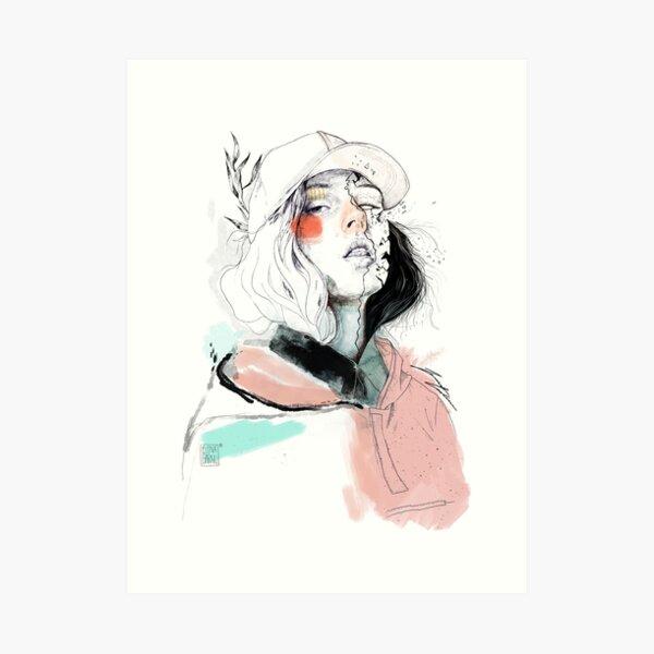 COLLABORATION ELENA GARNU / JAVI CODINA Art Print