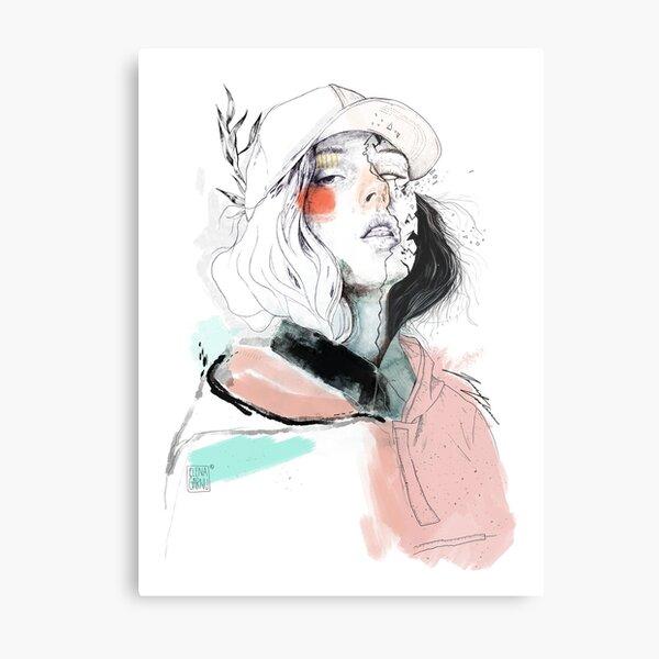 COLLABORATION ELENA GARNU / JAVI CODINA Metal Print
