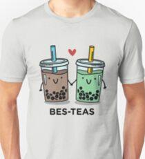 Camiseta ajustada Juego de palabras BES-TEAS