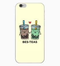 BES-TEAS pun iPhone Case
