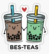 BES-TEAS pun Sticker