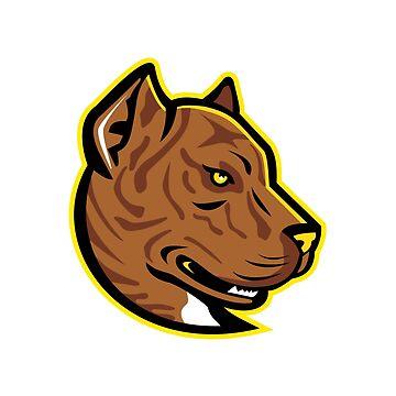 Spanish Bulldog or Spanish Alano Mascot by patrimonio