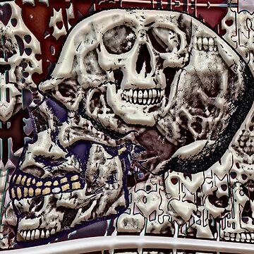 skulls a plenty by bywhacky