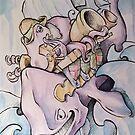 Gypsum Guy & the Two Tonne Flea by Byron  McBride