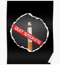 No more cigarette Poster