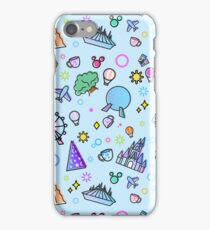 Meet me at my Happy Place Pattern iPhone 7 Case