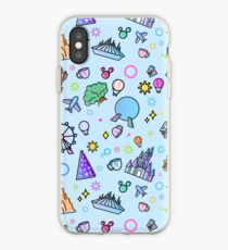 Meet me at my Happy Place Pattern iPhone Case