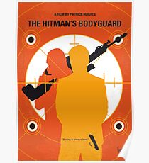No926 My The Hitmans Bodyguard minimal movie poster Poster
