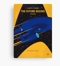 No930 My ST The Future Begins minimal movie poster Canvas Print