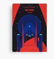 No932 My ST Beyond minimal movie poster Canvas Print