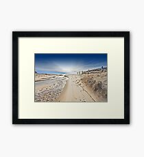 Nauset Indians Beach Framed Print