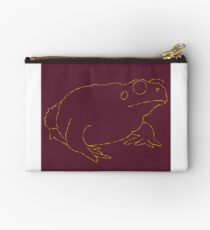 Maroon Cane Toad Studio Pouch