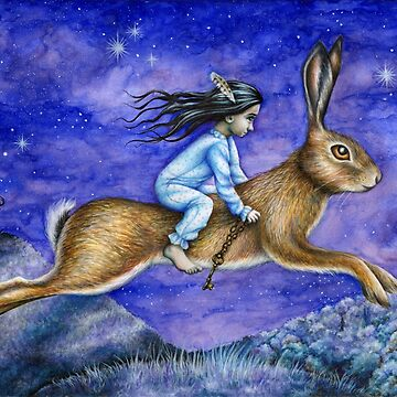 The Dream - Hare rider by Flyttamouse