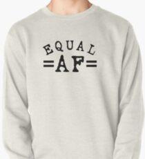 EQUAL AF black Pullover Sweatshirt