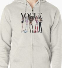 spice girls vogue Zipped Hoodie