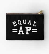 EQUAL AF white Studio Pouch