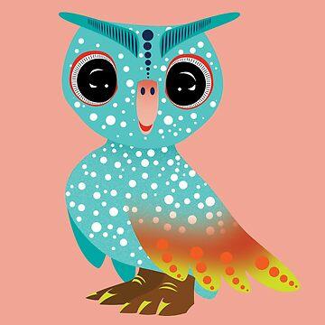 Owl Alebrije by reeuuk