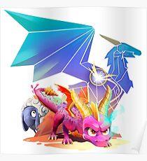 Spyro Reborn Poster