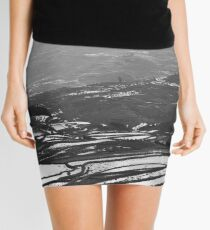 Yuanyang Rice Terraces Mini Skirt