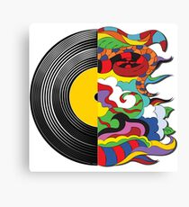world of music Canvas Print