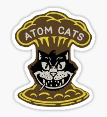 ATOM CATS Sticker