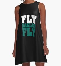 Fly Eagles Fly A-Line Dress