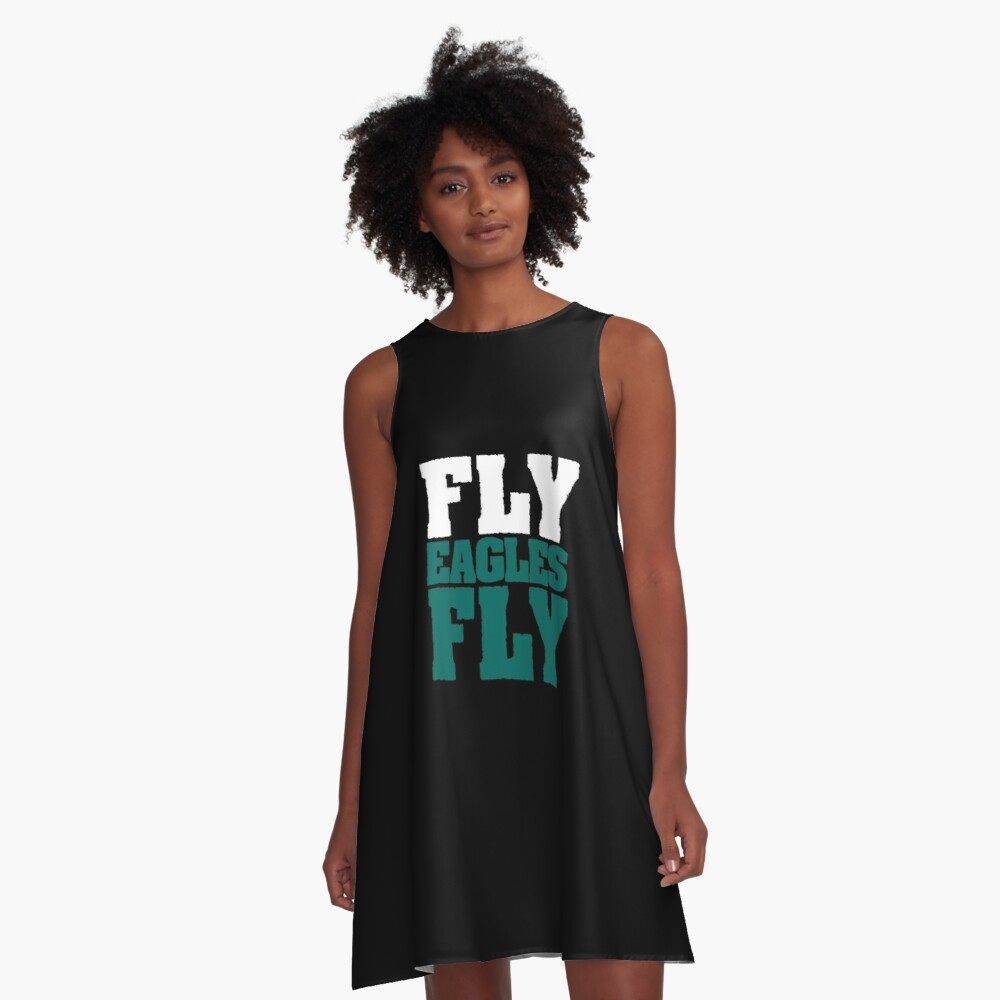 Fly Eagles Fly A-Line Dress Front