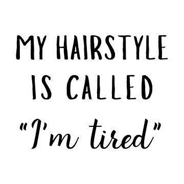 Tired Hairstyle by jenniferzalzal