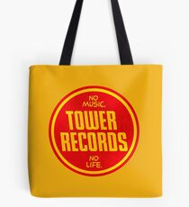 Bolsa de tela Tower Records vintage