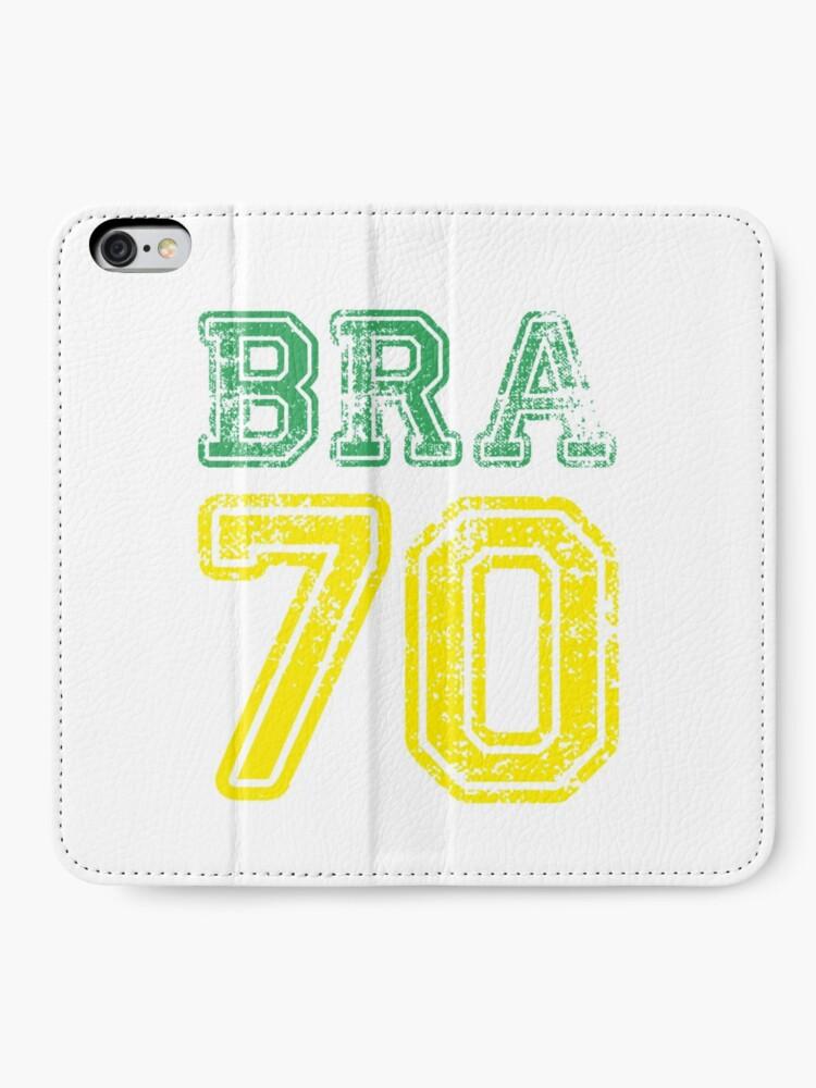 Alternative Ansicht von BRAZIL 1970 iPhone Flip-Case
