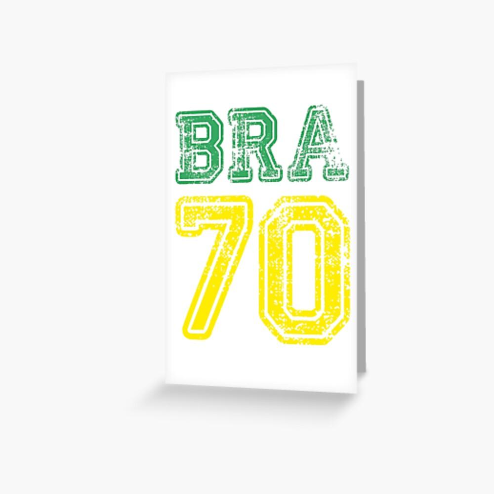 BRAZIL 1970 Grußkarte